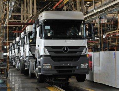 تولید کامیون آمار عکس اقتصاد مقاومتی