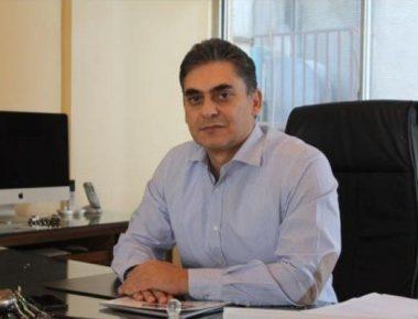 محمد لاهوتی رئیس کنفدراسیون صادرات اتاق بازرگانی ایران