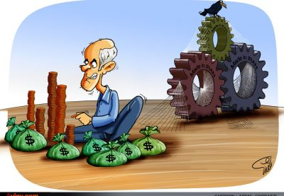 015 aviny 400x277 - کاریکاتور: مال اندوزی عامل شکست تولید داخل