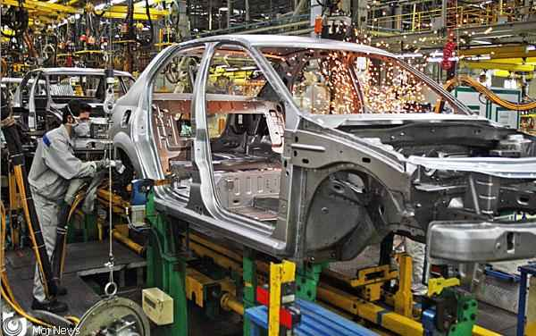 روند نزولی تولید خودرو متوقف شد
