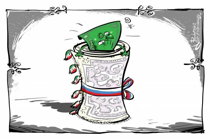 طرح خبرگزاری اسپوتنیک از همکاری روسیه و ایران در حذف دلار از مبادلات - طرح خبرگزاری اسپوتنیک روسیه با محوریت سخنان رهبر انقلاب