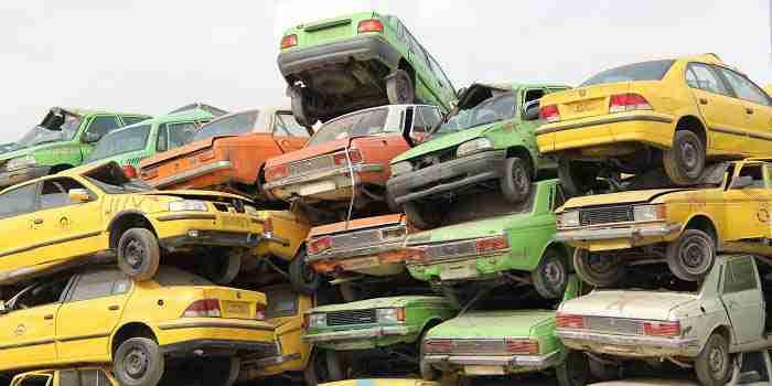 اسقاط خودروهای فرسوده - کاهش آلودگی هوا و مصرف سوخت با افزایش اسقاط خودروهای فرسوده