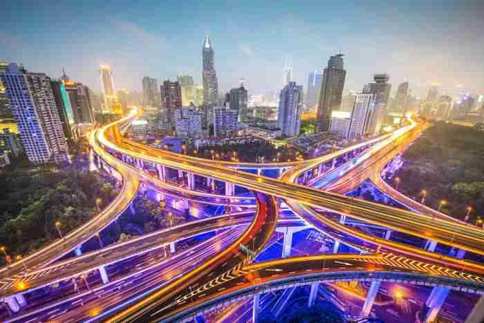bigstock shanghai china aerial view ov 68079505 - افزایش 24 درصدی مشارکت بخش خصوصی در پروژه های زیرساختی کشورها