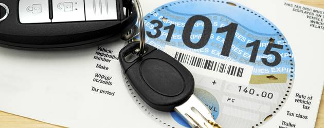 car tax uk - چاپ