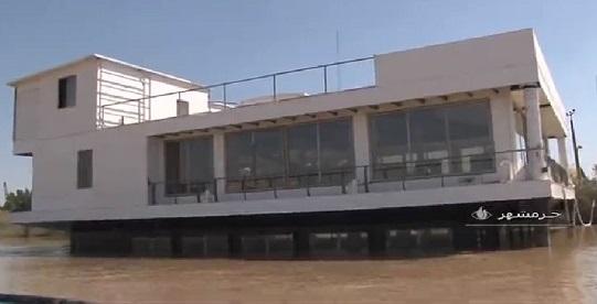 21987 بللبب561 - بهره برداری از اولین شناور رستوران دریایی ایران در خرمشهر