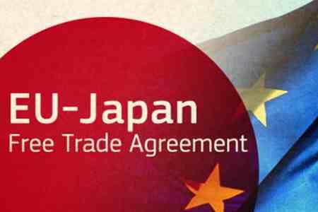 eu japan final - توافق تجاری دوجانبه ژاپن و اتحادیه اروپا تا تابستان نهایی میشود