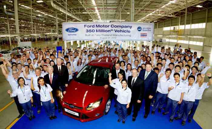 Ford Thailand - حمایت هوشمندانه عامل افزایش نرخ «داخلی سازی» خودروهای تایلندی