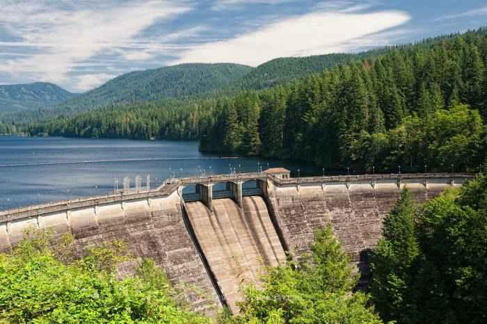 Dam 1 Bull Run Watershed - تامین آب شرب در پاراگوئه با اجرای عملیات آبخیزداری