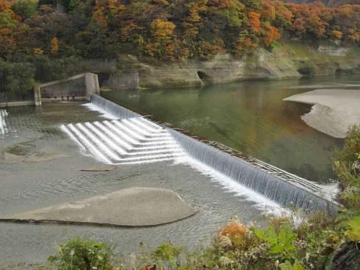 Naruko Dam check dam - احیای منابع طبیعی با آبخیزداری، پیشنهاد دانشمندان آمریکایی