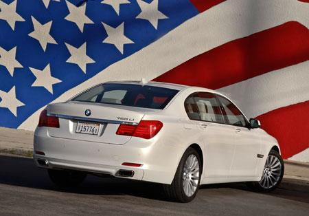 bmw 7 series usa - الزام BMW به تولید موتور در آمریکا با اجرایی شدن قرارداد جدید نفتا