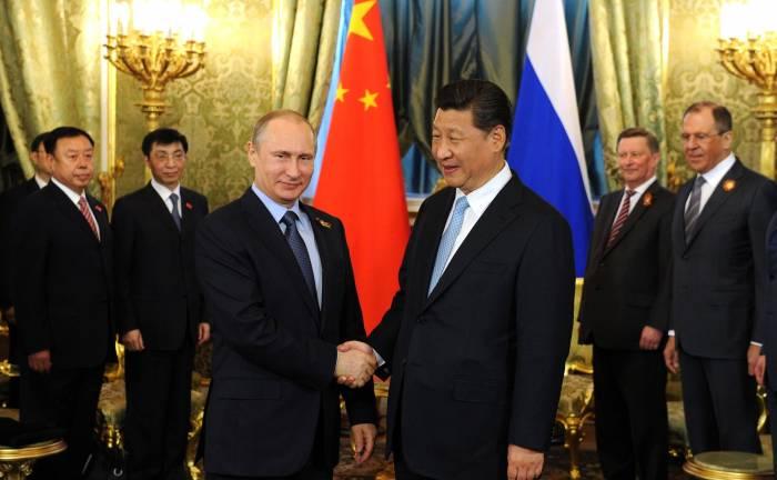 اتحاد ایران با چین و روسیه