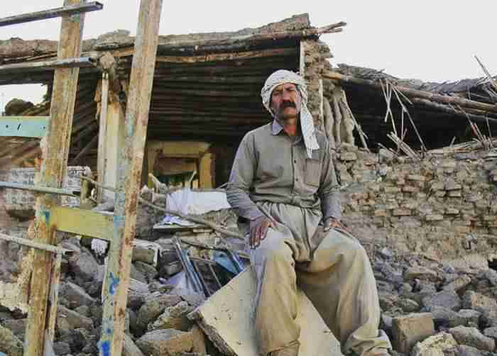 مسکن روستایی زلزله کرمانشاه