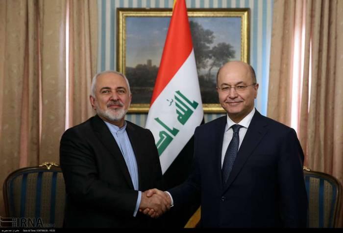 دیدار ظریف با مقامات کشور عراق