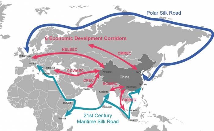 جاده ابریشم جدید چین
