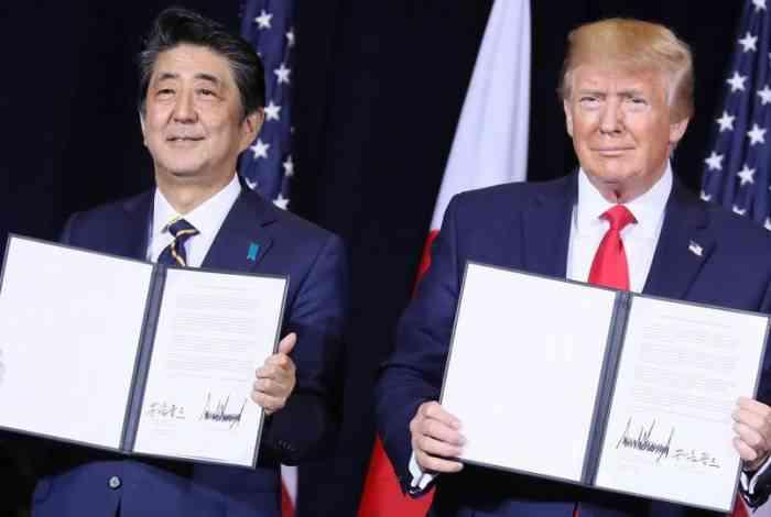 توافق تجارت دوجانبه آمریکا و ژاپن