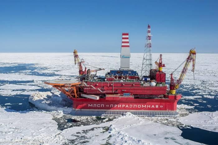 پروژه نفتی روسیه در قطب شمال