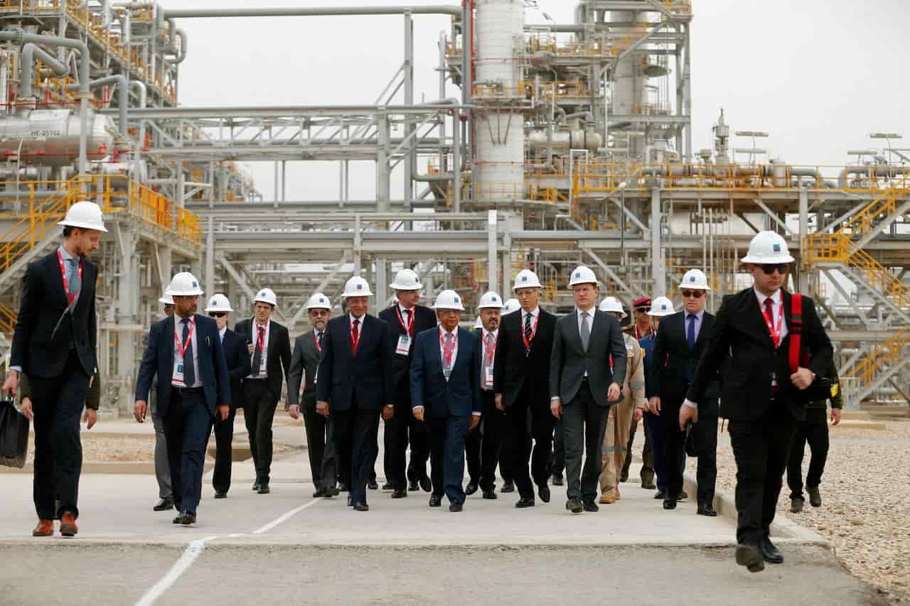 حضور روسیه در صنعت نفت عراق