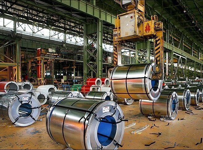 سهم تولید داخلی در خط نورد گرم فولاد مبارکه