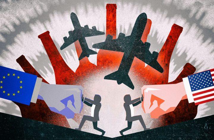 افزایش تعرفه واردات هواپیمای مسافری آمریکا