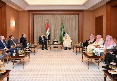 گزارش سفر وزیر دارایی عراق به کشور عربستان