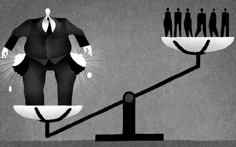 خلق پول، عدالت و نابرابری