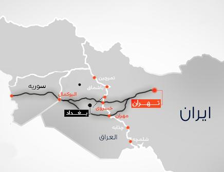 ترانزیت از ایران به سوریه از مسیر عراق