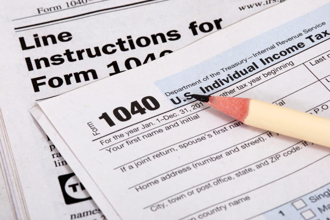 مالیات بر درآمد در آمریکا