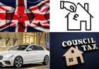 مالیات سالانه املاک و خودرو در بریتانیا