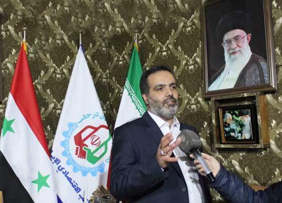 توسعه تجارت ایران و سوریه