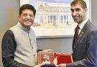تجارت دوجانبه 100 میلیارد دلاری هند و امارات